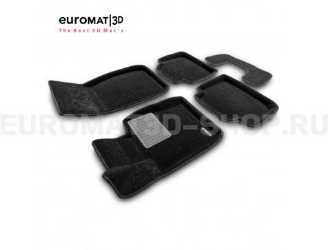 Текстильные 3D коврики Euromat3D Business в салон для Bmw 3 (F30) X-Drive (2010-2018) № EMC3D-001223