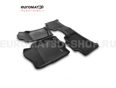 3D коврики Euromat3D EVA в салон для Cadillac Escalade (2007-2014) № EM3DEVA-001302
